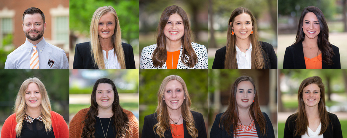 2019 College of Education, Health and Aviation Top Ten Seniors