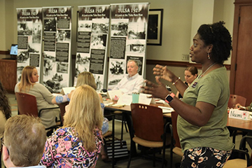 Shedding light on local history: Teaching about the Tulsa Race Massacre