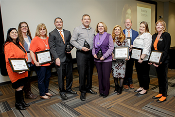 CEAT Staff Recognized at SAC Distinguished Service Awards Ceremony
