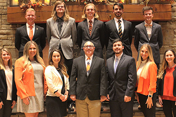 Eleven College of Engineering, Architecture and Technology students selected as OSU Seniors of Significance