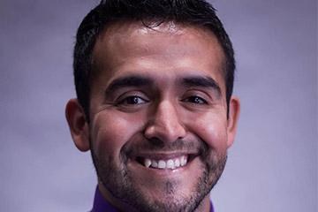 Adrian Saenz named Fulbright Scholar
