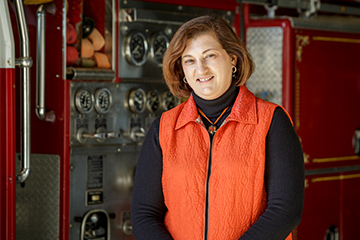 Caroline Reed appointed director of Fire Service Training at OSU