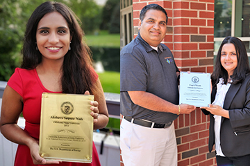 Two members of OSU's Industrial Assessment Center receive awards