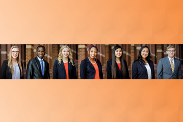 Seven College of Engineering, Architecture and Technology seniors receive top honors from the Alumni Association