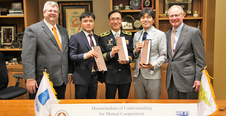 South Korea MOA signing