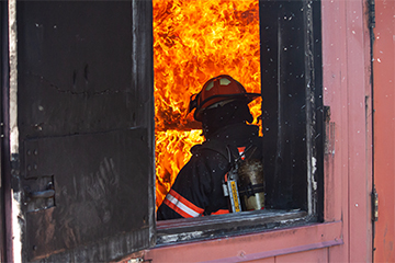 Fire Service Training hosts group of South Korean firefighters