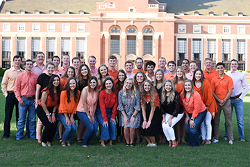 Oklahoma State University Mortar Board awards four CEAT students as Top Freshmen Men and Women
