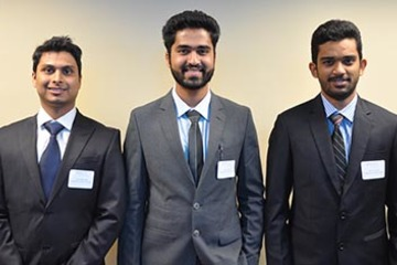 Industrial engineering and management students win case study competition