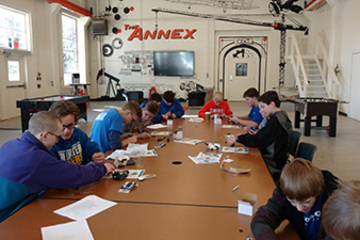 OSU's College of Engineering, Architecture and Technology hosts Boy Scout Merit Badge University