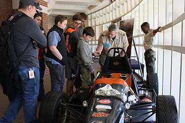 OSU's College of Engineering, Architecture and Technology Helps Stillwater Boy Scouts Earn Merit Badges