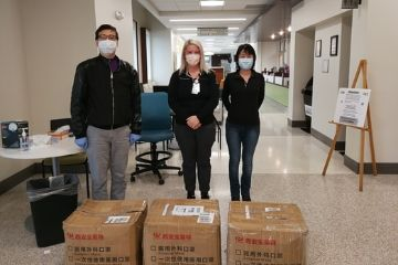 Stillwater Chinese community and previous OSU Chinese scholars donate nearly 10,000 facemasks