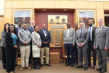 School of Global Studies and Partnerships welcomes Ethiopia Higher Education representatives