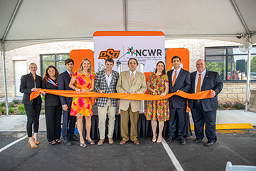 Ribbon cutting ceremony held for OSU and NCWR research center