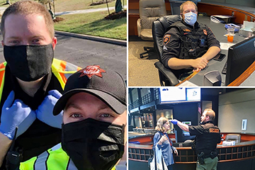 OSU Health Care Heroes: Meagan Robertson and OSU-CHS Security team