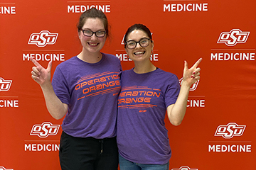 Med students volunteer at camp they once attended
