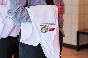 Ceremony welcomes inaugural class of 54 first-year medical students