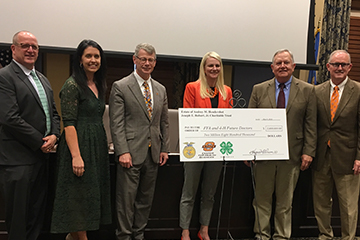$2.8 Million Combined Scholarship Gifts to Benefit Oklahoma FFA and 4-H Students