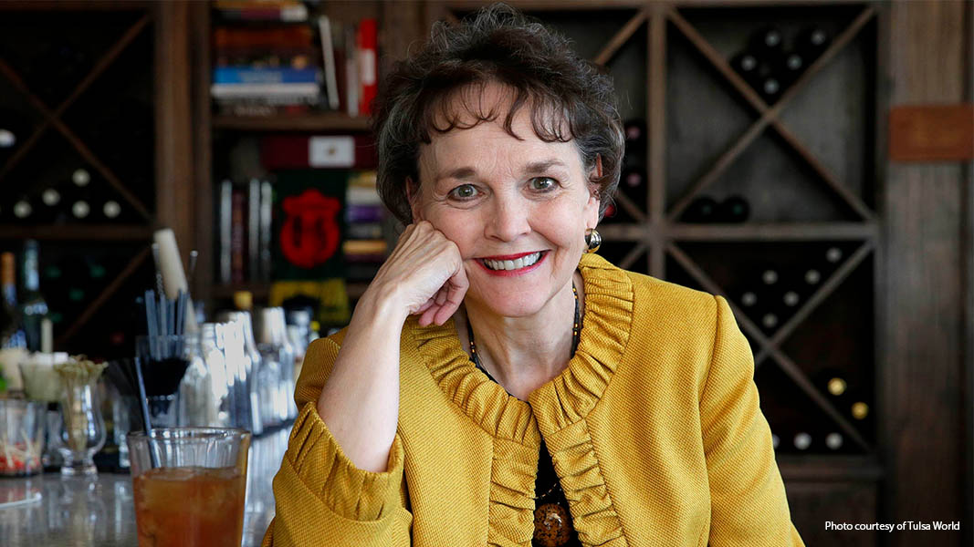 Teresa Miller, 2019 inductee into the Oklahoma Writers Hall of Fame