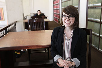 Claire Ringer Receives OSU's Undergraduate Library Research Award