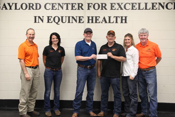 OSU Veterinary College Receives Research Funding from Aurora Pharmaceutical