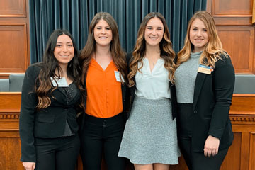 OSU Veterinary Students Attend AVMA Legislative Fly-In