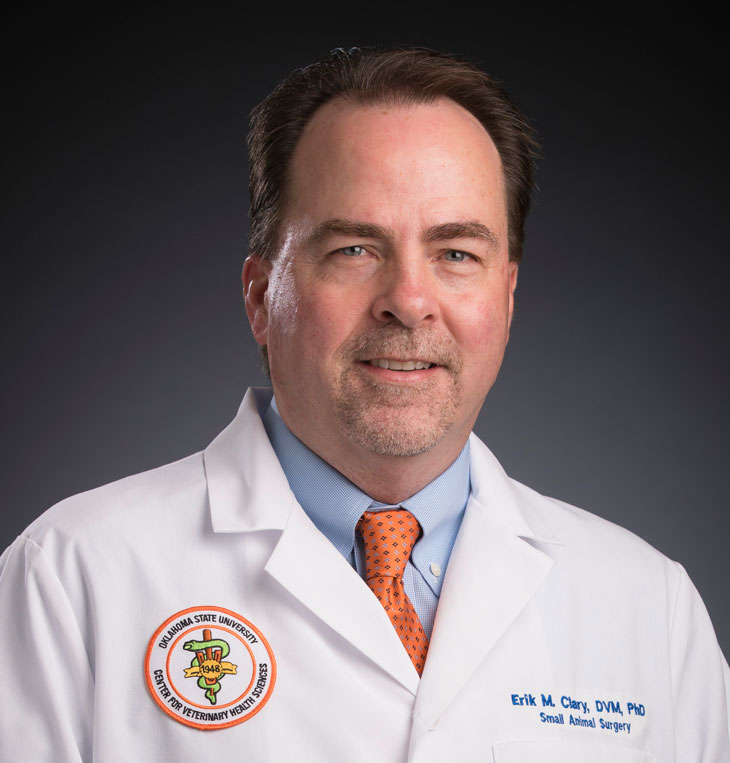 Vet Med Faces of Research: Dr. Erik Clary