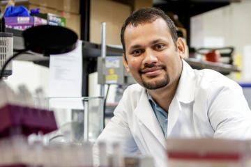 Ranjan Receives President's Fellows Award for Cancer Research