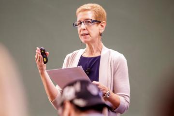 Dr. Margi Gilmour: 2017 Regents Distinguished Teaching Award Recipient
