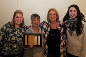 Axton Receives Stratton Award