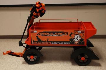 OSU Gets New Ambulance!