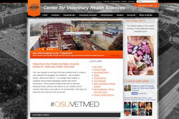 OSU's Veterinary Center Launches a New Website