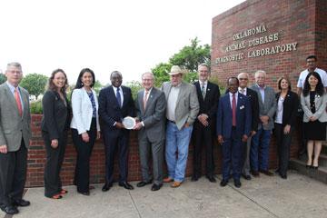OSU Veterinary College hosts Kenya Ambassador