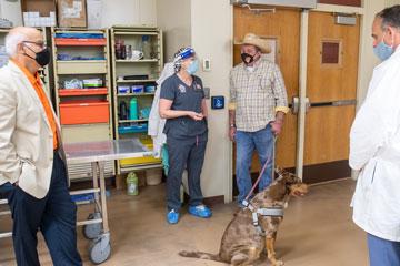 Rep. McBride Visits OSU's Shelter Medicine Program