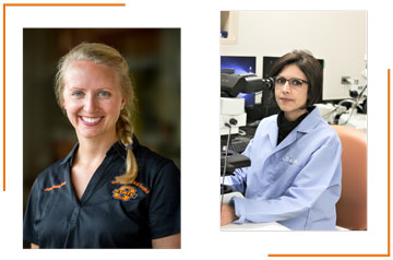 Two Receive Nomination for National Research Award