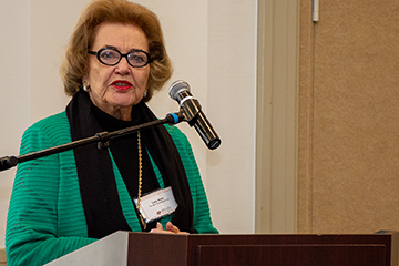 Lou Kerr has energized three decades of the Women's Business Leadership Conference