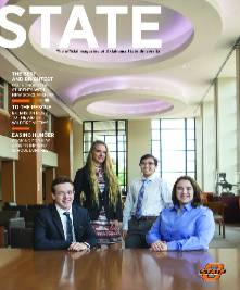 State Magazine cover, Fall 2018 Edition