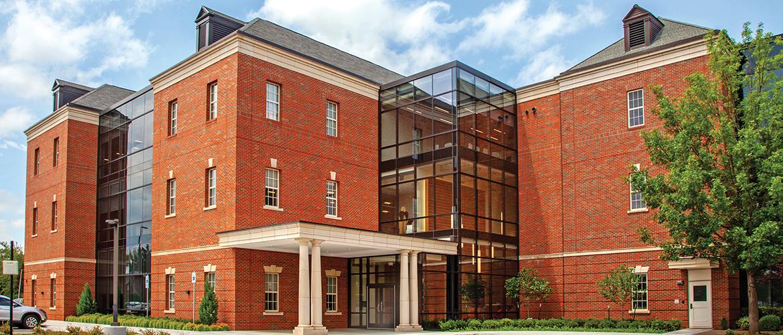 OSU Foundation building.
