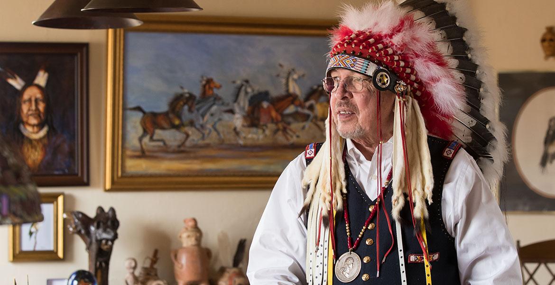 Honoring His Heritage   STATE   Oklahoma State University
