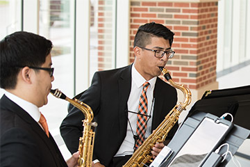 Playing to Win: OSU junior plans to use music education to give back to others