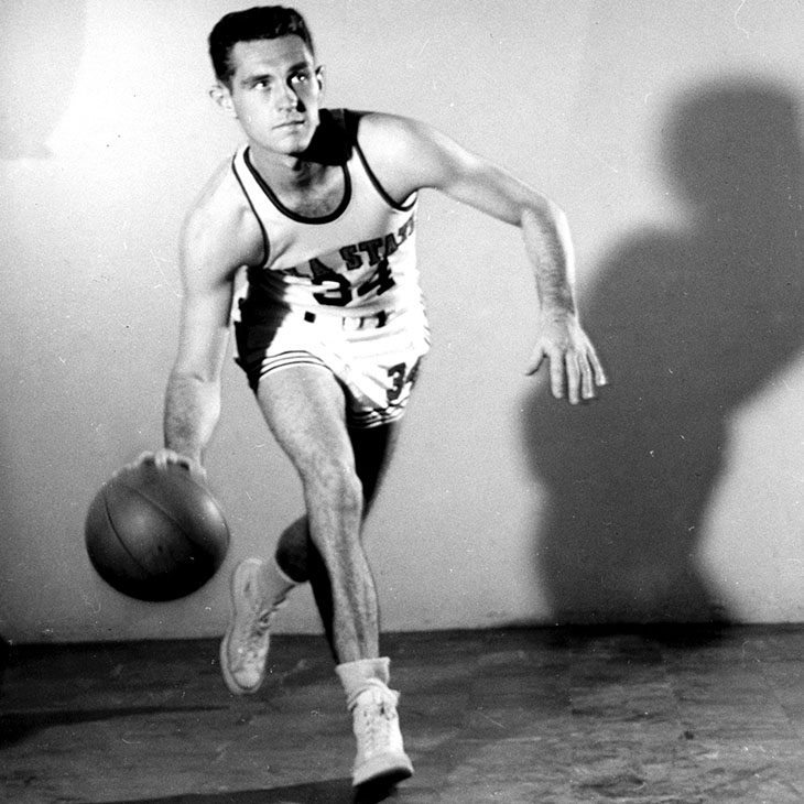 Eddie Sutton playng for OSU