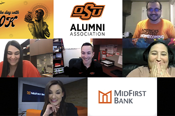 Oklahoma State Cowgirl wins $20,000 in MidFirst Bank sweepstakes