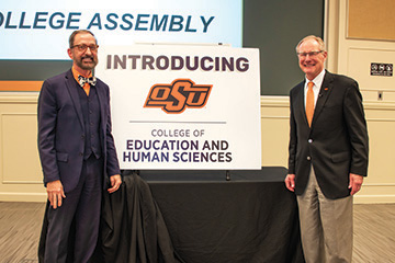 OSU merges College of Education, Health and Aviation with College of Human Sciences