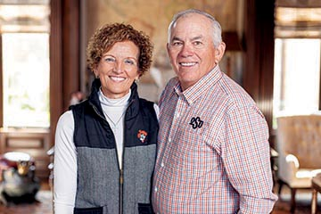 Larry and Kayleen Ferguson began their path together at OSU