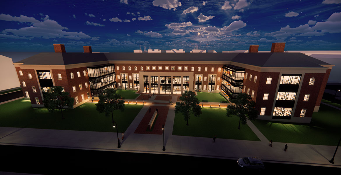 Architectural Mock up of the New Ferguson College of Agriculture