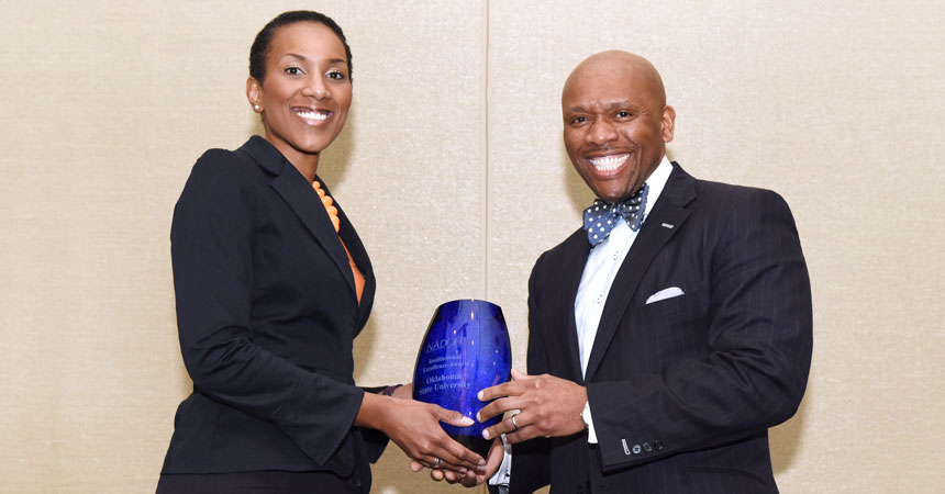 "OSU receives national diversity honor for being ""exemplary model"""