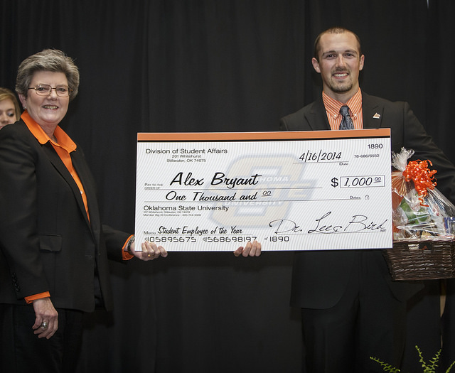 OSU Student Employee of the Year named | News And