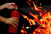 Safety is key when using a home fire extinguisher