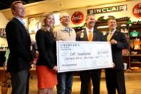 SGA, Eskimo Joe's present $73,000 check to Stillwater Medical Center