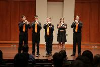 OSU Trumpet Ensemble Wins Second-Straight National Competition